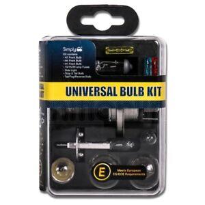 Simply-Universal-10-Piece-Car-Emergency-Bulb-Fuse-Spares-H1-H4-H7-Kit-Set