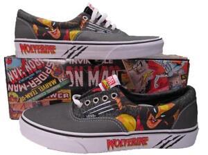 ae7c0959d2588e Image is loading Vans-Wolverine-Marvel-Logan-LO-ERA-Skate-Sneakers-