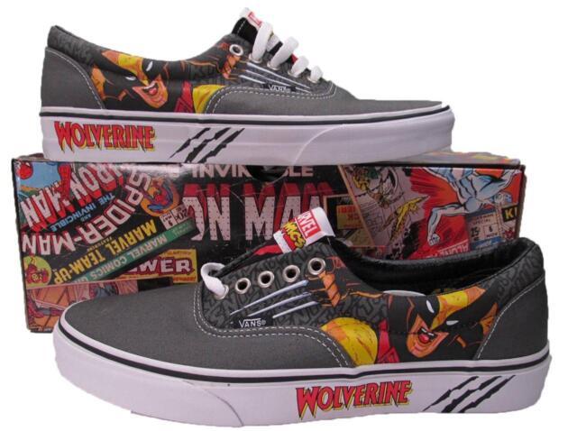 2fe58e84e0 VANS Wolverine Marvel Lo Era Skate SNEAKERS Shoes X-men 00498092 4 ...