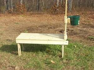 how to build a sheep stand