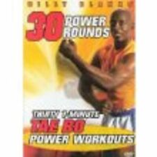Billy Blanks - 30 1 ONE MINUTE POWER WORKOUTS (DVD) rounds tae bo taebo cardio