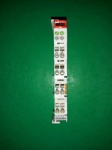 Beckhoff KL27222-Kanal-Triac-Ausgangsklemme 12…230 V AC