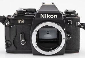 Nikon-FG-chassis-BODY-SLR-Fotocamera-Reflex-Nero