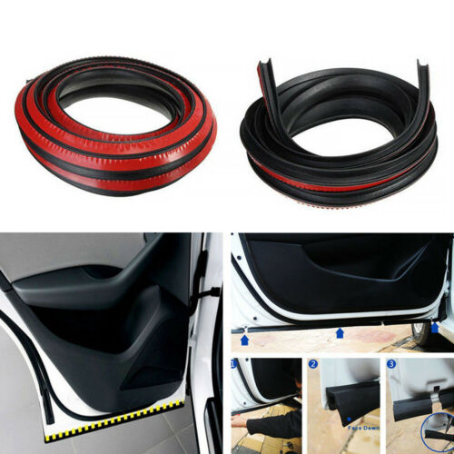 4M P Type Car Door Auto Noise Rubber Edge Seal Weather Strip Weatherstrip Useful