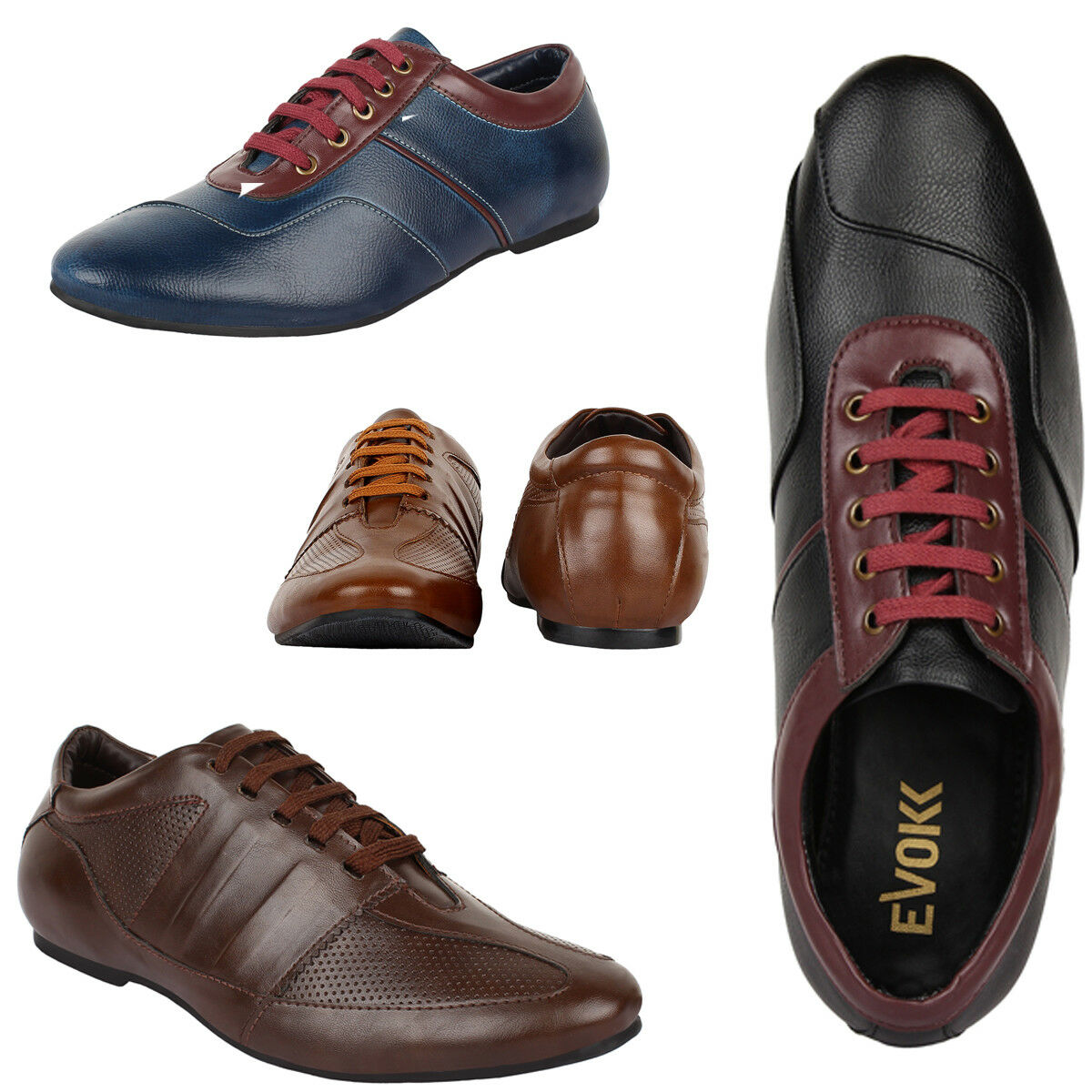Men's Smart Shoes TURF Style Leather Lase-up Smart Men's Casual Leather Fashion Shoe 328835