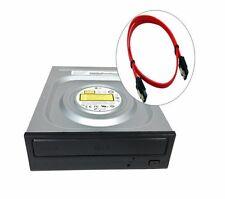 LG Internal SATA 24x DVD CD +/-R RW DL Disc Burner Re-Writer Drive w/Sata Cable