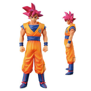 Anime-Dragon-Ball-Z-Figure-Jouets-God-of-Super-Saiyan-Goku-Figurine-Statues-15cm