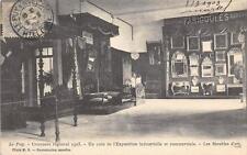 CPA 43 LE PUY CONCOURS REGIONAL 1903 UN COIN DE L'EXPOSITION INDUSTRIELLE ET COM