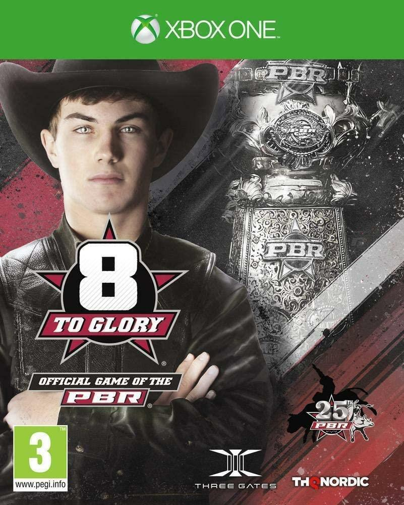 8 To Glory Official PBR Bull Riding Game Xbox One Brand New Sealed
