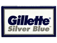 80 Gillette Silver Blue Double Edge Razor Blades