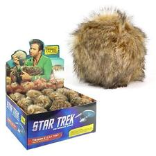 "STAR TREK TOS Licensed 3"" TRIBBLE Catnip Filled CAT TOY PLUSH Great GIFT"