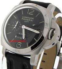 35e49024566 Panerai LUMINOR 1950 GMT 8 Days Pam 233 Stainless Steel Mechanical Watch  44mm