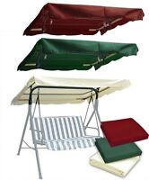 Patio Outdoor Swing Canopy Replacement Porch Top Cover Seat-75x52