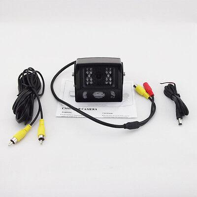 18 IR LED Reverse Night Vision Color CMOS Car Rear View Backup Parking Camera