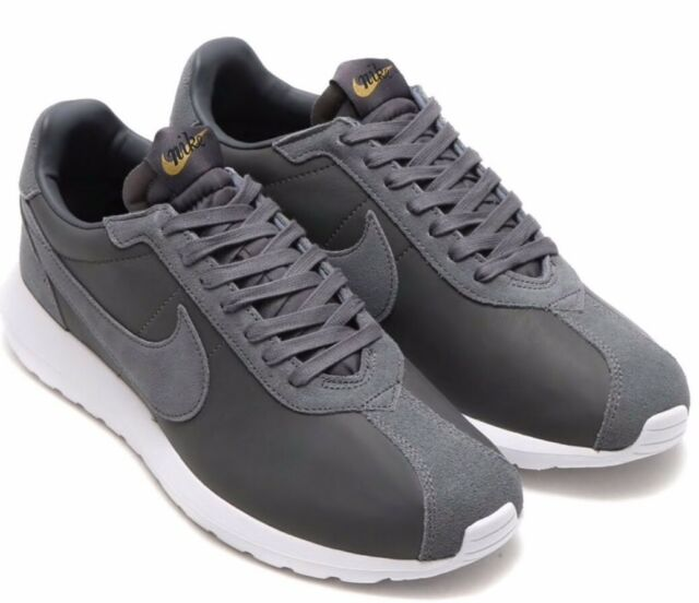 códigos de cupón venta minorista marca famosa Nike Roshe Ld-1000 Premium QS Leather Grey Men Running Shoes Atmos ...