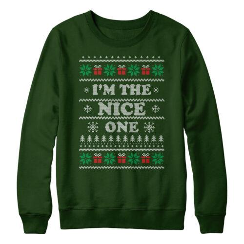 COPPIE cattivo e Nizza Christmas Sweaters ponticelli amici FRATELLI migliore L157