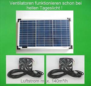 20 watt solarl fter solar l fter bel fter solarventilator gew chshaus gartenhaus ebay. Black Bedroom Furniture Sets. Home Design Ideas