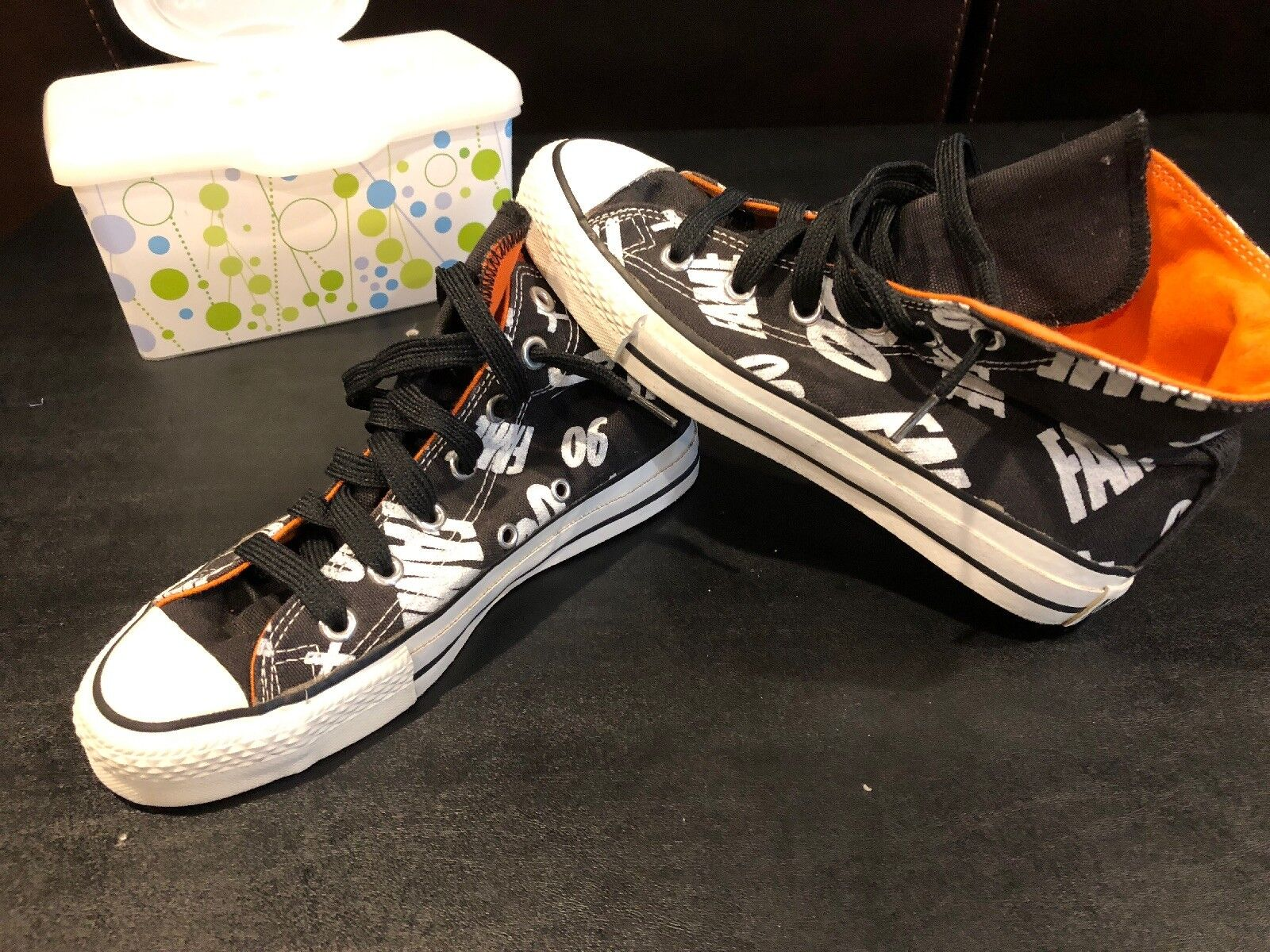 VINTAGE RARE 1990 David Bowie Converse FAME 90 Promo High Top Limited Edition