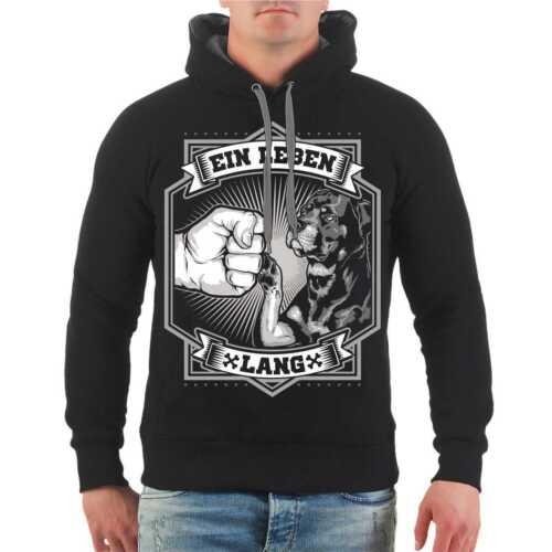 Capuche Sweatshirt Hood rottweilers Noir Taille S M L XL XXL 3xl 8xl
