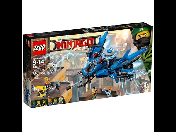 LEGO THE NINJAGO MOVIE 70614 JET - FULMINE IMBALLATO