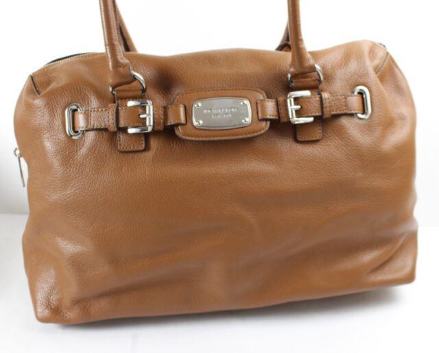2b8613bacad991 Michael Kors Hamilton LG Laptop Weekender Leather Tote Duffle NWT $448  Luggage