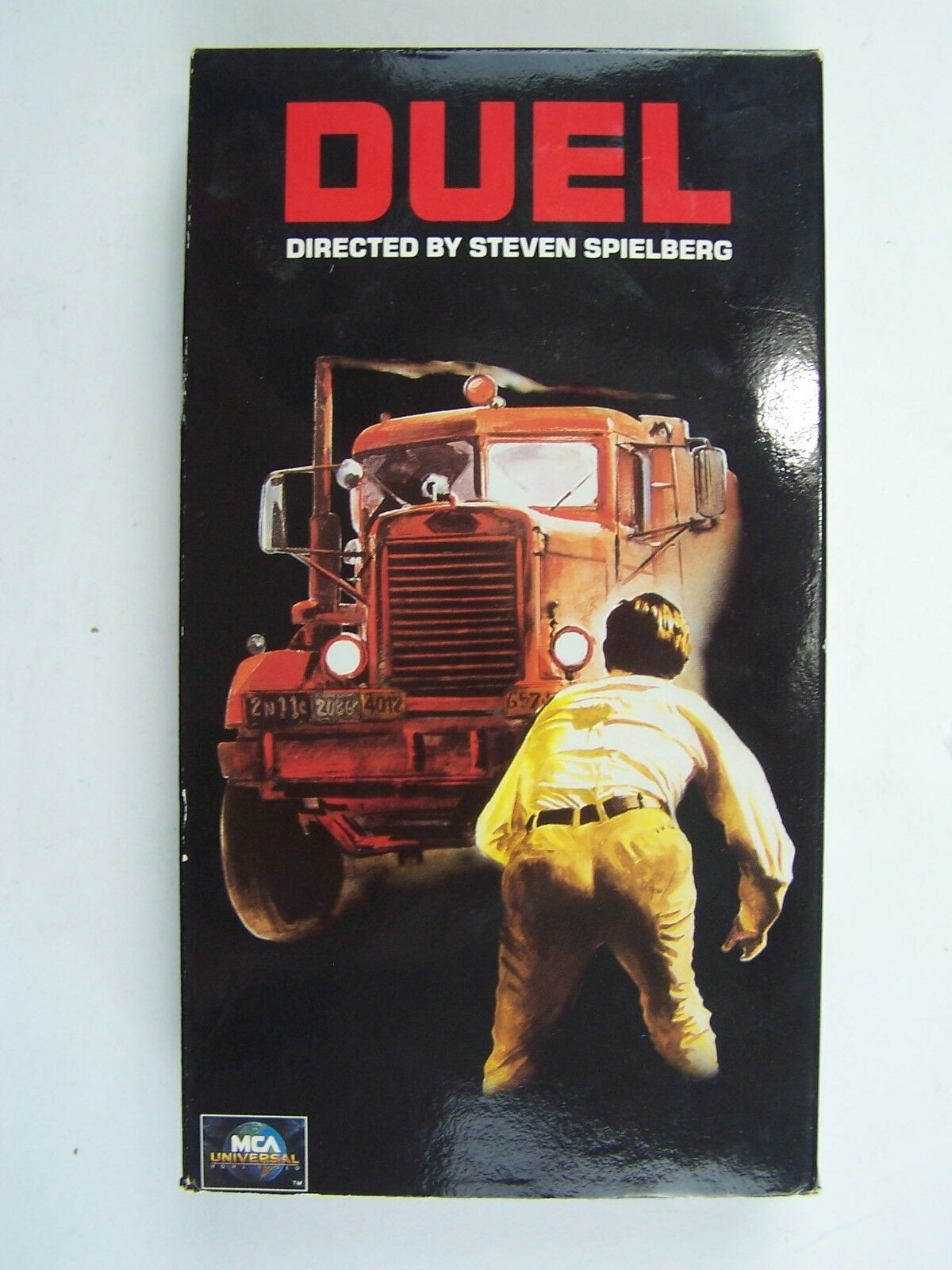 DUEL VHS Video Tape Dennis Weaver Steven Spielberg