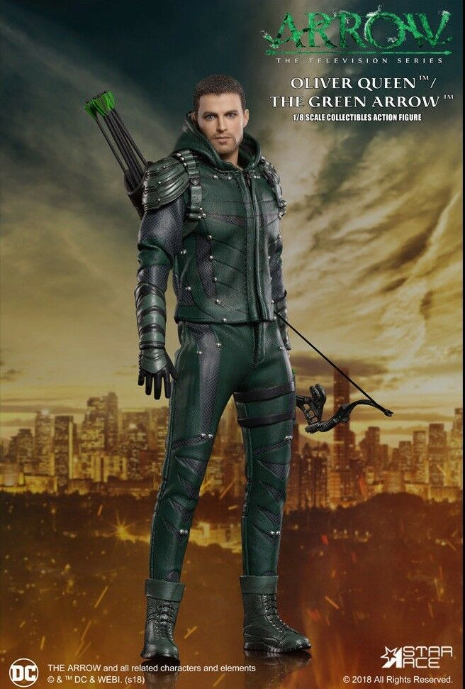 Flecha (TV series) - Flecha verde Escala 1 8 figura de acción (Estrella Ace Juguetes)