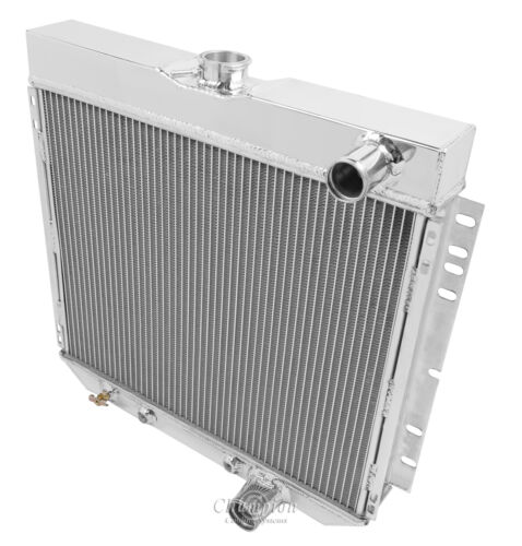 Champion Racing 3 Row Aluminum Radiator CC340 For 1967 1968 1970 Ford Mustang