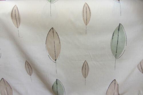 Verde oliva Hoja Algodón curtain//craft Tela