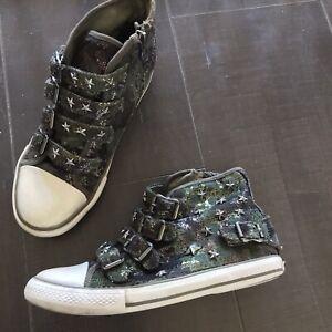 Girls ASH Vava Sneakers - Camo Sequins