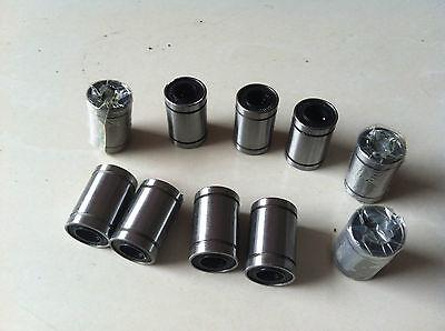 10pcs LM6UU 6mm Linear Motion Ball Bearing Bush Bushing 6x12x19mm CNC Parts