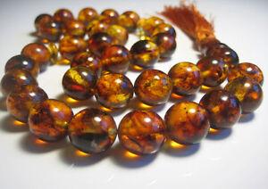 Islamische-Gebets-Baltic-Amber-33-Perlen-42-Gramm