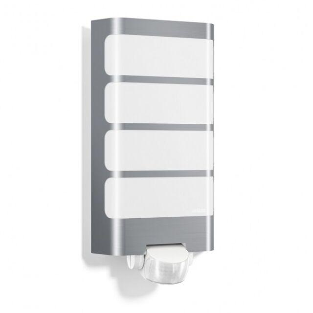 STEINEL L244 LED Outdoor Sensor Light, in Stainless Steel