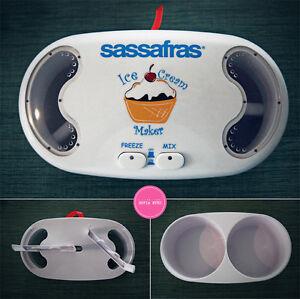 Sassafras-Helado-Maker-para-ninos-amp-FAMILIA-facil-en-el-hogar