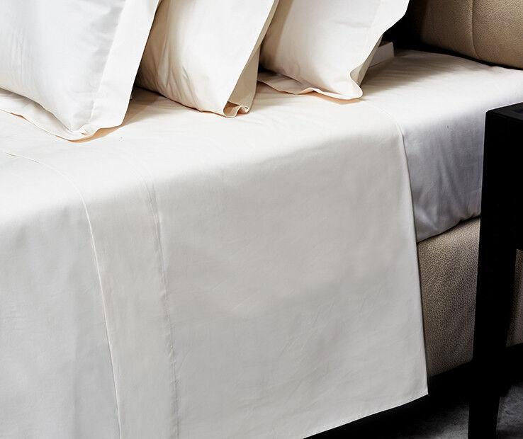 Signoria Firenze Gemma King Flat Sheet - Ivory