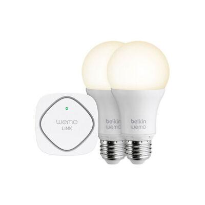 NEW Belkin F5Z0489au WeMo LED Bulb Starter Kit Screw