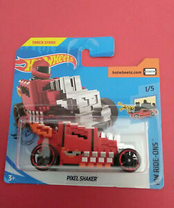 HOT-WHEELS-PIXEL-SHAKER-HW-RIDE-ONS-SHORT-CARTE-VOITURE-R-5945
