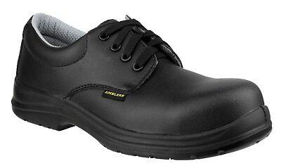 Amblers Seguridad Zapato con cordones para hombre Negro ESD Vario Tamaño FS662