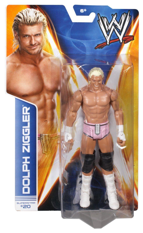 WWE Mattel Basic Series 38 Dolph Ziggler Wrestling Action Figure