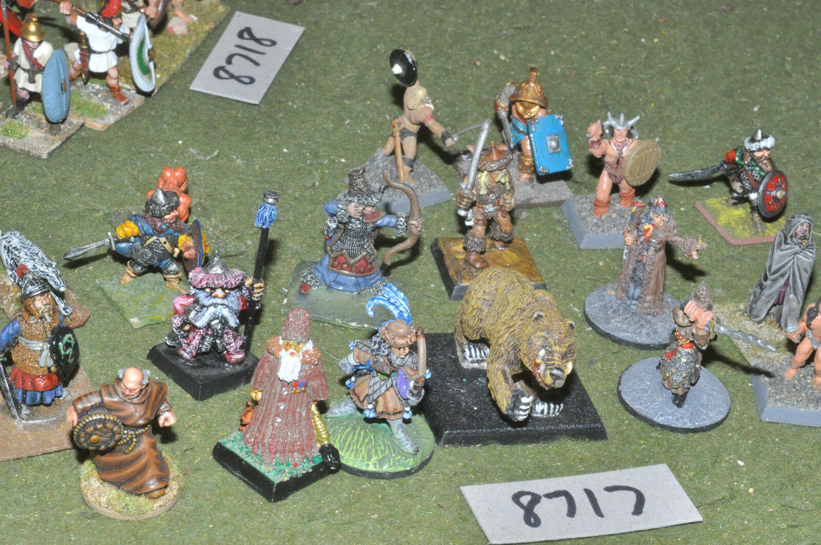 25mm fantasy characters & creatures 19 figures (8717) metal painted