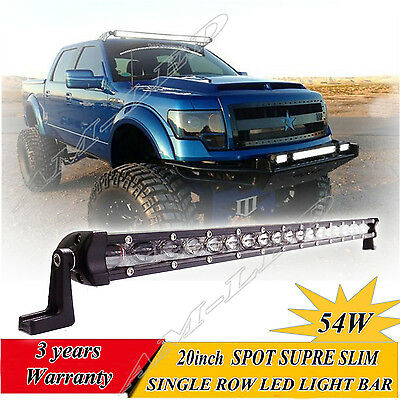 22''inch CREE LED Light Bar Work Flood Spot Offroad Truck Jeep Driving SUV 20/24