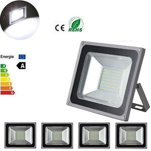 FOCO-PROYECTOR-LED-SMD-100W-ESPANA-Exterior-Focos-Lampara-Pared-Luz-Reflector