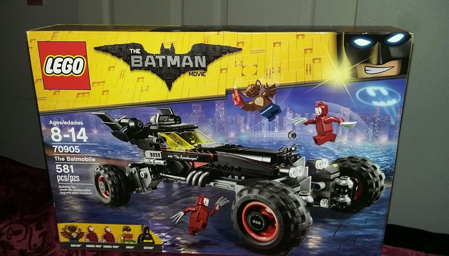LEGOS The Batman Movie Batmobile building toy new setpcs ages 8-14