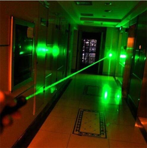 Waterproof 532nm 900Miles Green Laser Pointer Pen Visible Beam Torch Lazer Lamp
