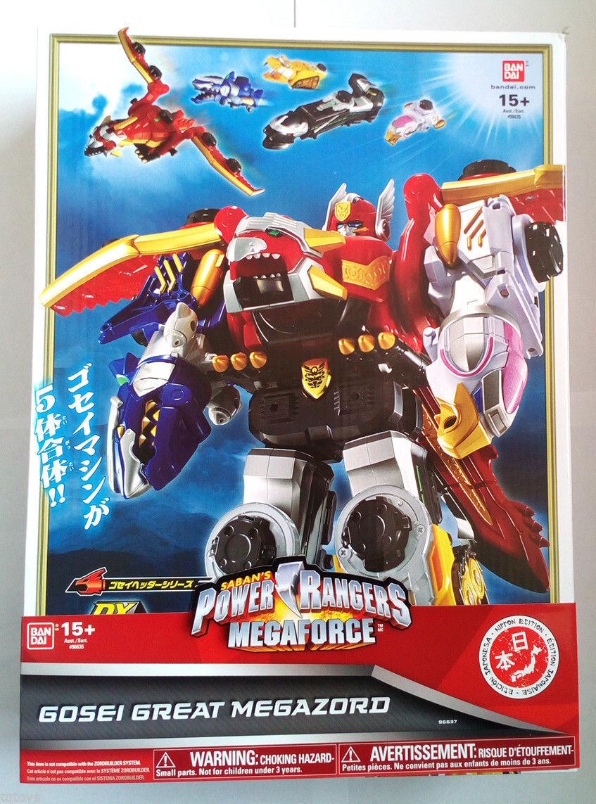 Power rangers megaforce gosei große megazord nippon ausgabe 15 + 96637