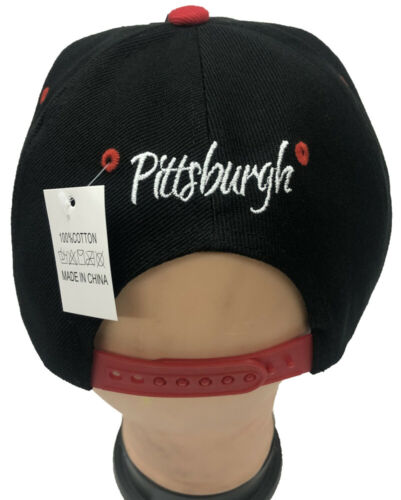 PITTSBURGH Snapback Flat Brim Adjustable Baseball Caps Hats LOT Buy 3 get 1 free