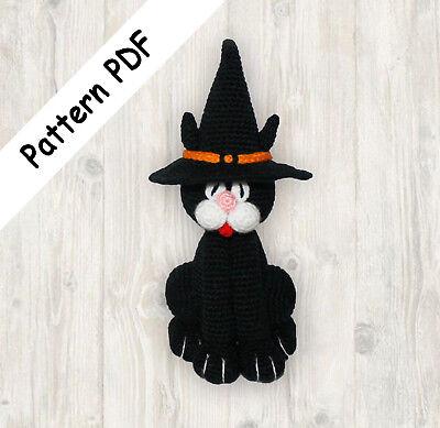 Amigurumi Black Cat Free Pattern – Free Amigurumi Crochet | 389x400