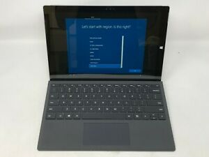 Microsoft-Surface-Pro-3-12-3-Silver-2014-1-9GHz-i5-4GB-128GB-Good-Condition