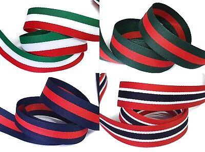 Besatzband 0,36€//m 5m Ripsband uni, Stoßband 20mm