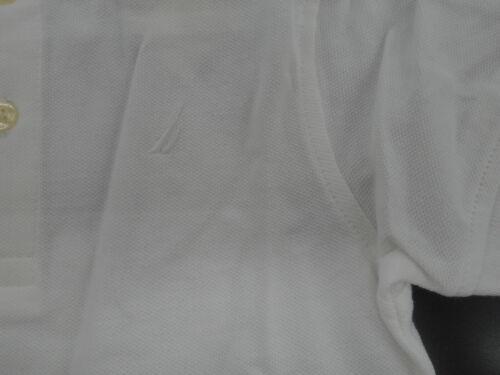 Toddler Boys Nautica $29.50 White Polo Shirt Sizes 2T /& 3T